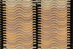 Roof tile stack Royalty Free Stock Image