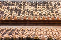 Roof tile in Temple Royalty Free Stock Image