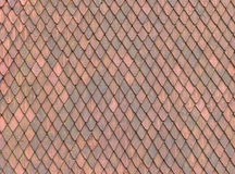 Roof Tile texture Royalty Free Stock Photos