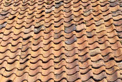 Roof Tile Texture Stock Photo