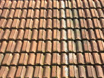 Roof tile texture Royalty Free Stock Image