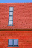 Roof tile with windows 5 Royalty Free Stock Images