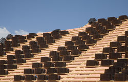 Roof tiles 1 Stock Image