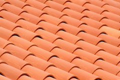 Roof Tiles. Detailed shot of various roof tiles Royalty Free Stock Photography