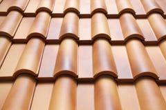 Roof_tiles Imagens de Stock Royalty Free