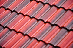 Roof-tiles Stock Images