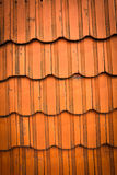Roof tiles. Old and dirty roof tiles Royalty Free Stock Photo