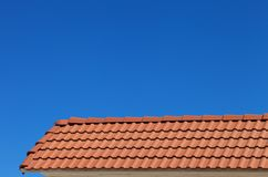 Roof tiles Stock Photos