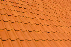 Roof tiles. Red roof tiles - useful for backgrounds Royalty Free Stock Photo