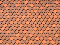 Roof Tiles Abstract Pattern Stock Photos