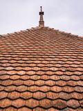 Roof Tiles Abstract Pattern Royalty Free Stock Images