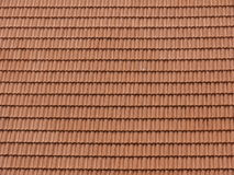 Roof Tiles Background. A background with a view of an abstract design formed by roof tiles Royalty Free Stock Images