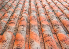 Roof tiles. Background made of roof tiles Stock Photography