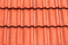 Roof tiles background Stock Image