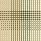 Roof tiles background texture in regular rows.Seamless pattern. Vector illustration. Stock Image