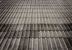 Roof tiles background. Of a Thai house Royalty Free Stock Photos