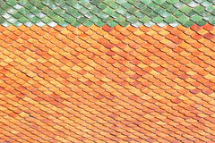 Roof tiles background tiles Stock Photography