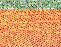 Roof tiles background tiles Royalty Free Stock Photography
