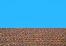 Roof tiles with blue sky Royalty Free Stock Photo