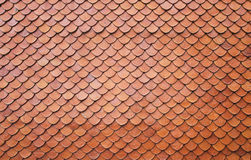 Roof tiles of classic Buddhist Royalty Free Stock Images