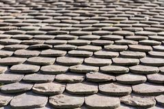 Roof tiles Stock Images
