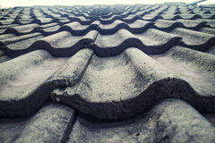 Roof Tiles close up Texture Stock Photo Stock Photo