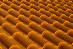 Roof tiles diagonal Stock Images