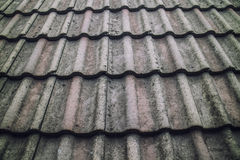 Roof Tiles at home Royalty Free Stock Photo