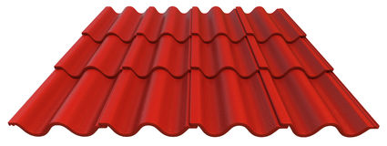 Roof tiles Royalty Free Stock Photo