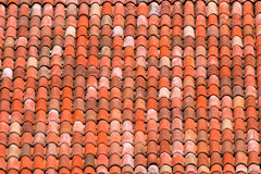 Roof tiles of a italian house in Bologna Royalty Free Stock Photo