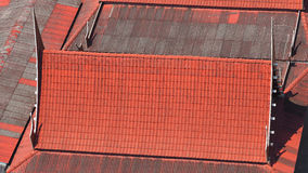Roof tiles and made from ceramic. Stock Photography