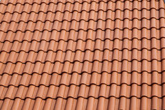 Roof tiles. New roof tiles close up detail Royalty Free Stock Photography