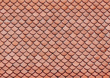 Roof Tiles Of Classic Buddhist Temple Stock Image