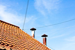 Roof tiles Royalty Free Stock Image