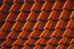 Roof tiles pattern Stock Photography