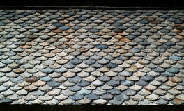 Roof Tiles Pattern Royalty Free Stock Image
