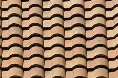 Roof tiles - pattern / background Stock Images