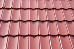Roof tiles. Pattern and texture of  roof tiles Royalty Free Stock Image