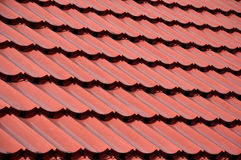 Roof tiles. Pattern and texture of  roof tiles Royalty Free Stock Images