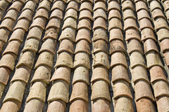 Roof tiles from Provence. France Stock Image