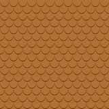 Roof tiles seamless pattern. Shingles profiles background. Backdrop. Vector. vector illustration
