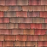 Roof tiles shingles stock illustration