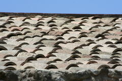roof tiles and sky Royalty Free Stock Photography