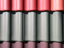 Roof tiles Stock Image