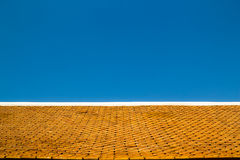 Roof tiles of temple at Wat Phra That Doi Suthep Royalty Free Stock Photos