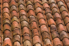 Roof tiles texture Royalty Free Stock Image