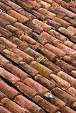Roof tiles texture royalty free stock photo