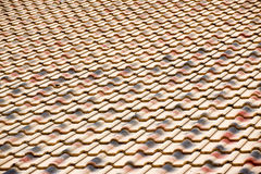 Roof tiles texture Stock Photography