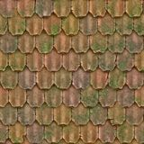Roof tiles tiled shingles Royalty Free Stock Images