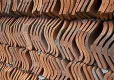 Roof Tiles Wall Royalty Free Stock Image